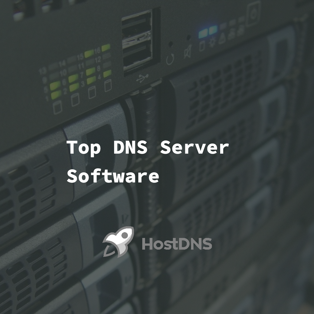 Top DNS Server Software